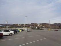 Parking samochody Obrazy Royalty Free