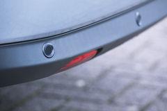 Parking sensors of a car Royalty Free Stock Photos