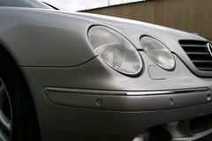 Parking sensors on a car Royalty Free Stock Photos