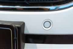 Parking sensors on a car Royalty Free Stock Image