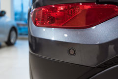 Parking sensors on a car Royalty Free Stock Photography