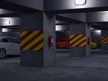 parking set ten Στοκ Φωτογραφίες