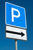 Parking sign Royalty Free Stock Photography