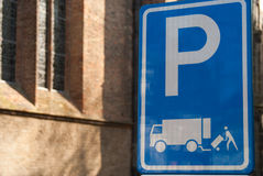 Parking sign Stock Photography