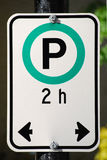 Parking Sign Royalty Free Stock Image