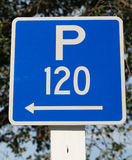 Parking sign Royalty Free Stock Photos
