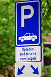 Parking sign. Royalty Free Stock Image