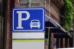 Parking sign Royalty Free Stock Photo