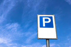 Parking sign Stock Images