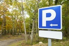 Parking signal Royalty Free Stock Photos