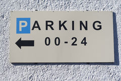 Parking signal Royalty Free Stock Photo