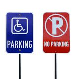 Parking signs Royalty Free Stock Photo