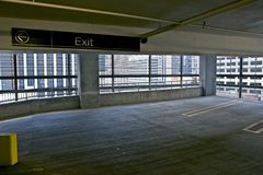 Parking Space Royalty Free Stock Photos