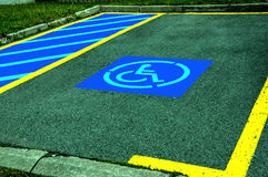 Parking space Royalty Free Stock Photo