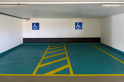 Parking spaces for the disabled Royalty Free Stock Photography