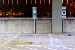 Parking Spaces Stock Images