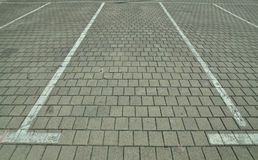 Parking spaces Royalty Free Stock Image
