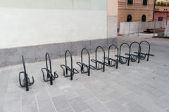 Parking system bicycle Stock Image