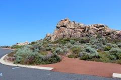 Parking teren przy kanałem Kołysa zachodni Australia Obrazy Royalty Free