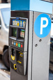 Parking ticket machine in New York Royalty Free Stock Image