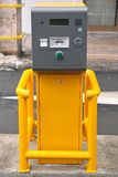 Parking ticket machinery Stock Images