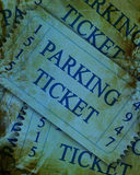Parking tickets Royalty Free Stock Image