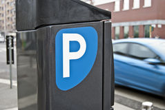 Parking tickets distributor Stock Images