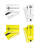 Parking tickets illustration Stock Images
