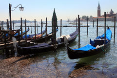 Parking in Venice Royalty Free Stock Images