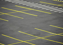 Parking vide Image stock