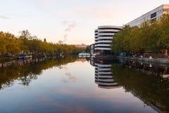 Parking w Amsterdam Zdjęcia Stock
