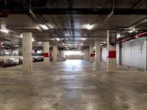 Parking w budynku fotografia royalty free