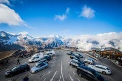 Parking w niebie Obraz Royalty Free