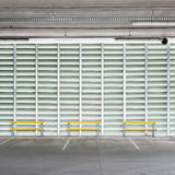 Parking wall Stock Images