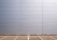 Parking and wall Stock Photography