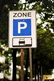 Parking zone Royalty Free Stock Photo
