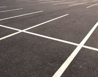 Parkings Image libre de droits