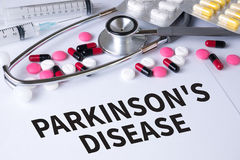 Parkinson-Krankheit stockfotos