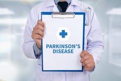 Parkinson-Krankheit lizenzfreies stockbild