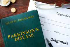 Parkinson's disease  concept. Royalty Free Stock Photography