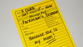 Parkinson`s disease Royalty Free Stock Images
