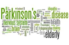 Parkinson's disease Royalty Free Stock Photos