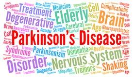 Parkinson& x27;s disease word cloud