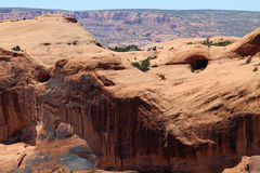 Parklücke Moabs, Utah Lizenzfreie Stockfotografie