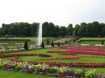 parkland дворца фонтана Стоковые Изображения