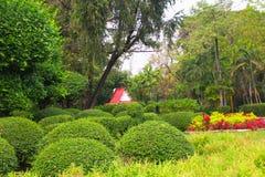 Parkland del jardín Imagen de archivo libre de regalías