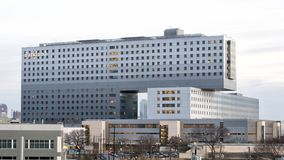 Parkland Memorial Hospital, Dallas, Texas. Pictured is Parkland Memorial Hospital, Dallas County`s public hospital. It was originally founded in 1894. The newest royalty free stock photos