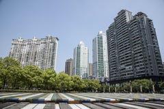 Parklands de Changshuo Lu, Putuo Shanghai Fotografia de Stock Royalty Free