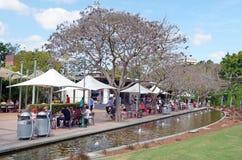 Parklands del sur del banco - Brisbane Australia Imagen de archivo