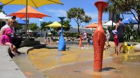 Parklands Gold Coast Australia de Broadwater almacen de metraje de vídeo